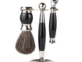 3 Piece Premium Shaving Set (White or Black)