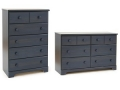 5 Drawer or 6 Drawer Chest (Blueberry) HP