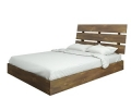 Platform Bed with Headboard (Queen)