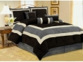 Queen Comforter Set, 7 Piece