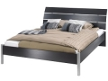 Platform Bed with Curved Headboard (Queen)