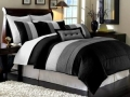 King Comforter Set, 8 Piece