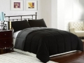 King Reversible Comforter Set, 3 Piece