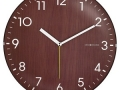 Silent Wooden Wall Clock
