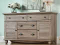 4 Drawer Dresser (in Salt Oak)