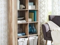 8 Cube Shelving Unit, Natural Finish