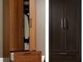 Wardrobe Armoire (Sienna or Dakota Oak) HP