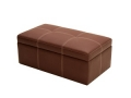 Ottoman with Storage, Multiple Colors and Sizes