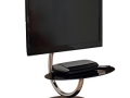 Swiveling C-Shape TV Stand