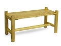 Log Pine Coffee Table, Natural