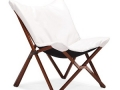 Draper Lounge Chair, Black or White