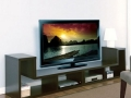 Dual Unit TV Stand, Cappucino