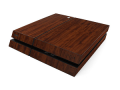 Dark Wood  Vinyl Skin for PS4