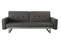 Modern Convertible Sofa Bed (Grey)