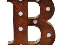 Marquee Light Up Letters (in Rust or Grey)