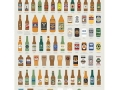 "Pop Charts Labs ""Fictional Beer"" (18 x 24)"