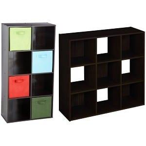 8 or 9 Cube Organizer (Espresso) HP