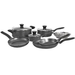 Nonstick-Pots-and-Pans-Set-10-Piece-HP good