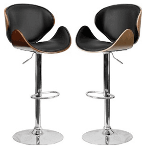 Rotating Bar Stool, Wood Vinyl HP good