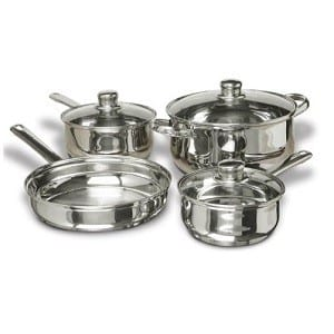 Stainless-Steel-Pots-and-Pans-Set-7-Piece-HP good