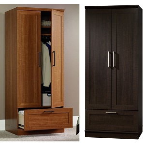 Genial Wardrobe Armoire (Sienna Or Dark Oak)