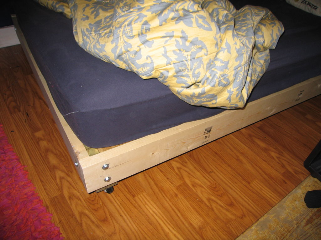 Platform Beds: Build It Yourself - Bachelor On A Budget