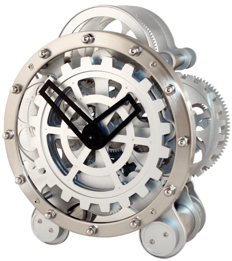 Gear Clock Bachelor On A Budget