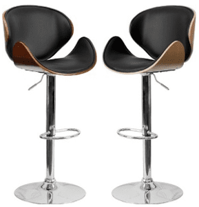 Rotating Bar Stool, Wood Vinyl HP (Combined)