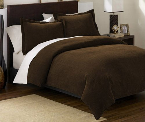 Queen Comforter Set 3 Piece Black Or Brown Bachelor