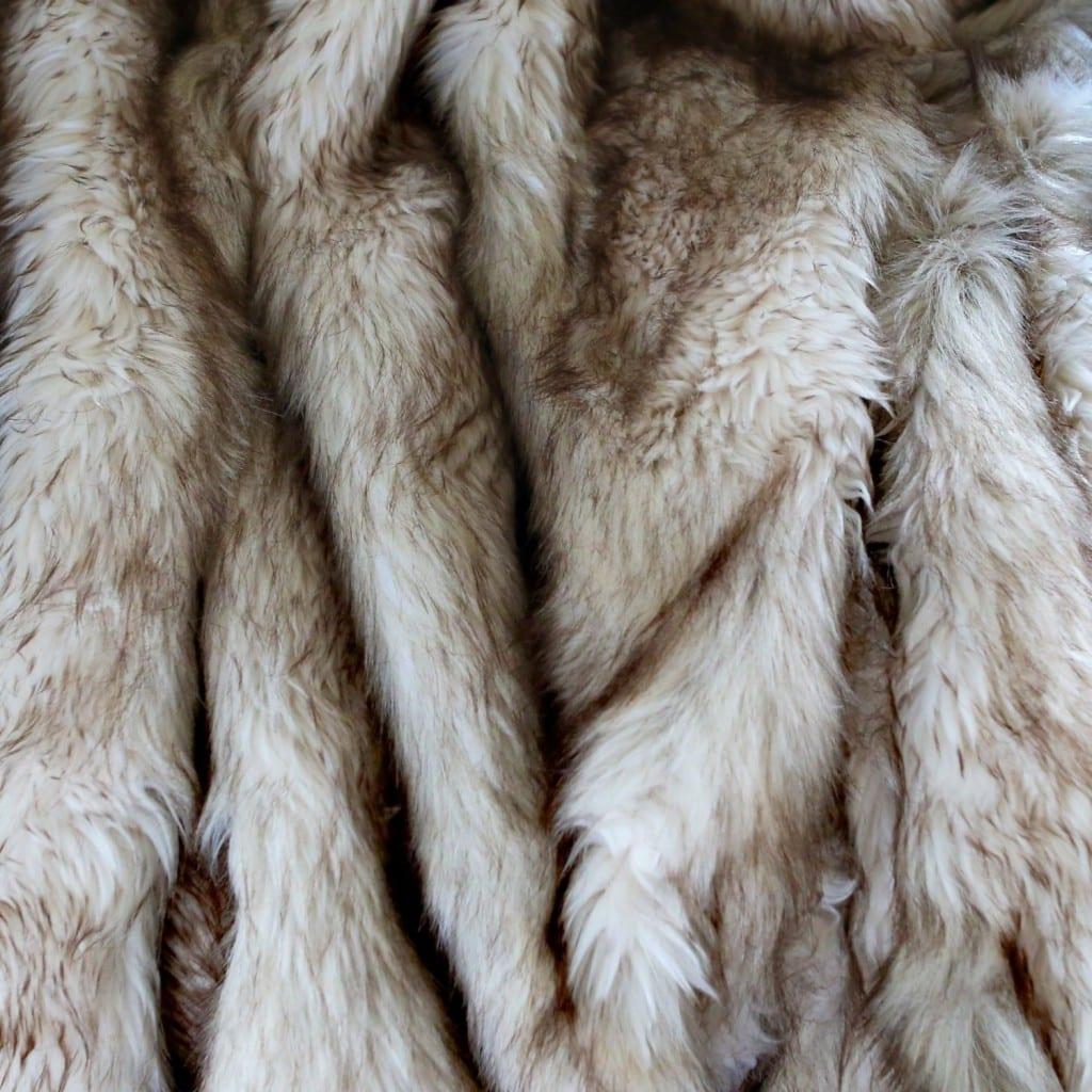 Fox Faux Fur Throw Blanket Bachelor On A Budget