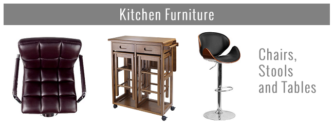 Kitchen Furniture - Chairs, Stools, Tables