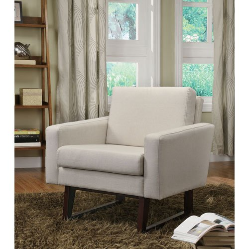 Accent Chairs On A Budget: Linen Accent Chair, Multiple Colors