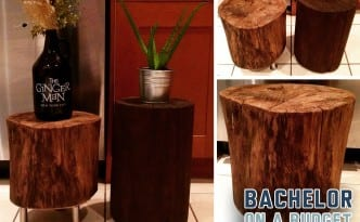 Tree Stump 3 panels IG wo