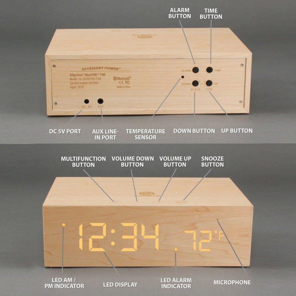 réveil ligth sensor clock