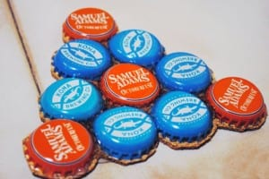 Bottle Cap Coasters