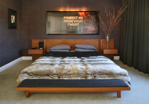 Bachelor Pad Bedroom Decor
