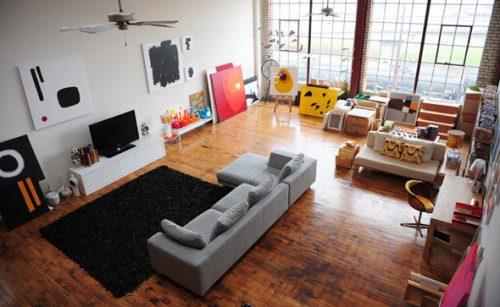 Bachelor Pad Living Room 17 ...