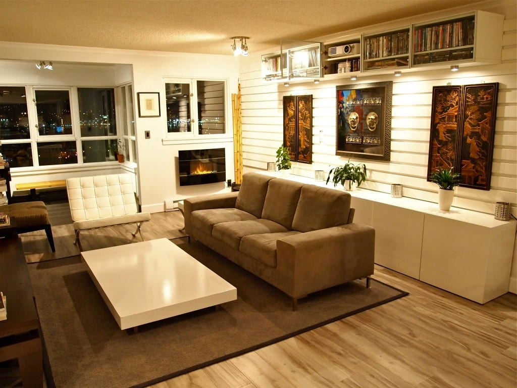 Bachelor Pad Living Room 1