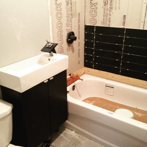 Bachelor Pad Bathroom Renovation 1