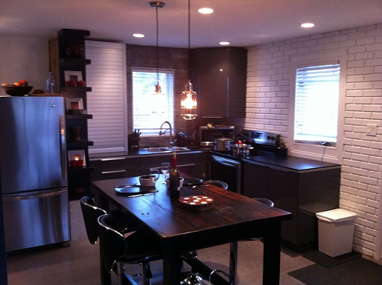 Bachelor Pad Kitchen Renovation After