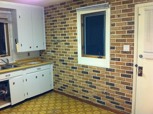 Bachelor Pad Kitchen Renovation Before