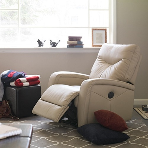 Bachelor Pad Leather Chair White