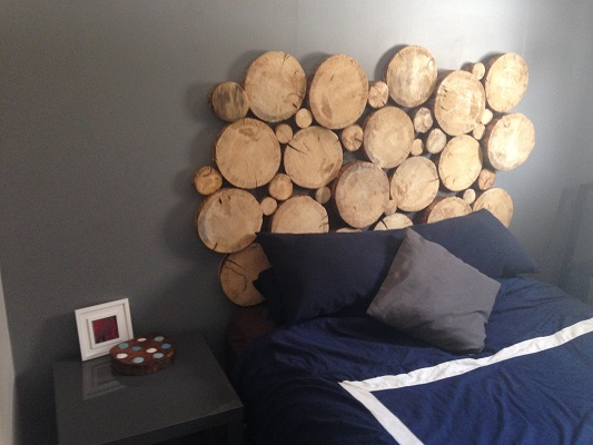 DIY bed headboard bachelor pad 1