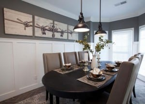 11 Interior Design for Divorced Dad dining room