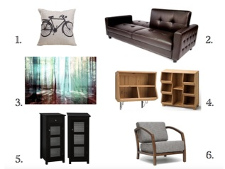 Interior Design for Divorced Dad - designer picks